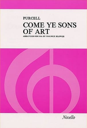 Come Ye Sons Of Art PURCELL Partition Chœur - laflutedepan