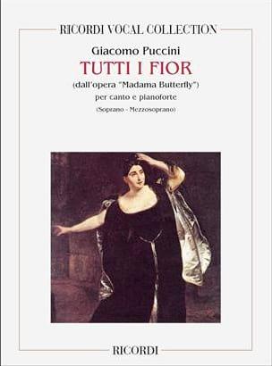 Giacomo Puccini - Tutti I Fior. Madama Butterfly - Partition - di-arezzo.fr