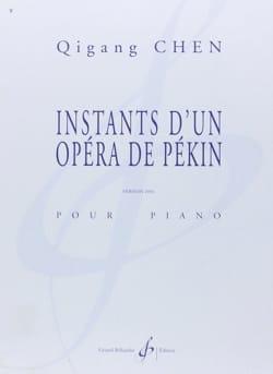 Qigang Chen - Instants D'un Opéra de Pékin - Partition - di-arezzo.fr