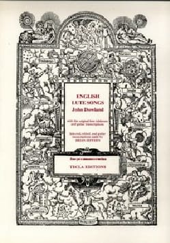 John Dowland - English Lute Songs - Sheet Music - di-arezzo.co.uk