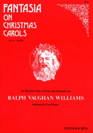 Williams Ralph Vaughan - Fantasia On Christmas Carols - Partition - di-arezzo.com