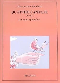 4 Cantates Inédites Alessandro Scarlatti Partition laflutedepan