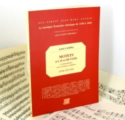 André Campra - Motets A 1, 2 et 3 Voix et Instruments Livre 2 - Partition - di-arezzo.fr