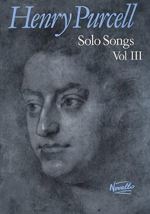 Solo Songs Volume 3 PURCELL Partition Mélodies - laflutedepan