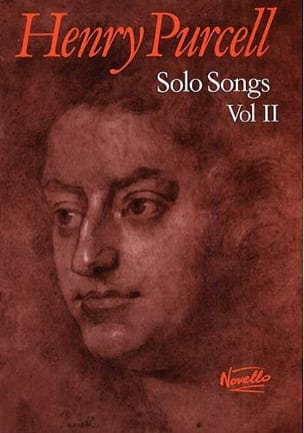 Solo Songs Volume 2 PURCELL Partition Mélodies - laflutedepan