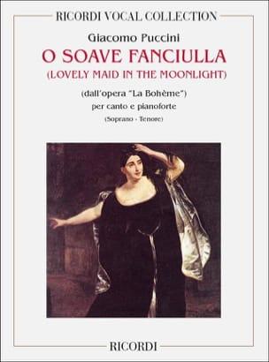 O Soave Fanciulla. la Bohême Giacomo Puccini Partition laflutedepan
