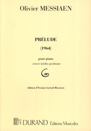 Olivier Messiaen - Preludio (1964) - Partitura - di-arezzo.es