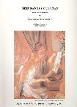 6 Danses Cubaines - Ignazio Cervantes - Partition - laflutedepan.com