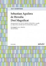 de Heredia Sebastian Aguilera - 3 Magnificat - Partition - di-arezzo.fr