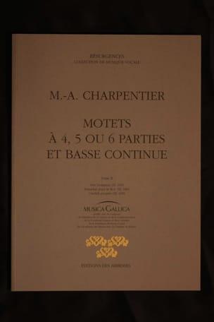 Marc-Antoine Charpentier - Motets A 4, 5 et 6 Parties Tome 2 - Partition - di-arezzo.fr