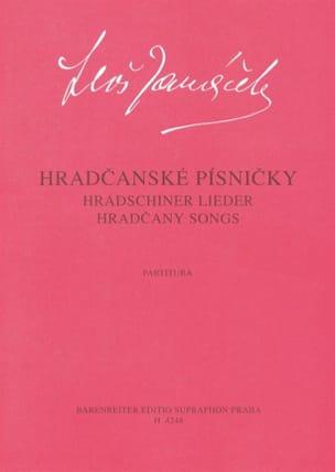 Leos Janacek - Hradcanske Pisnicky - Partition - di-arezzo.fr