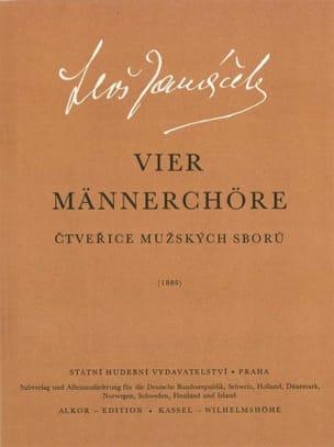 Männerchore - Leos Janacek - Partition - laflutedepan.com