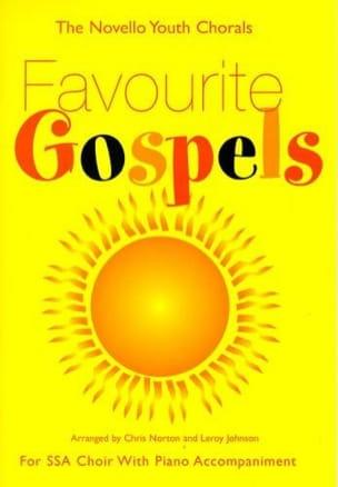 - Favourite Gospels. Voix égales - Partition - di-arezzo.fr