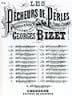 BIZET - The storm Calmed. Pearl Fishermen N ° 10 - Sheet Music - di-arezzo.com