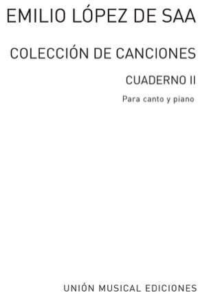 Coleccion de Canciones Vol 2 - de Saa Emilio Lopez - laflutedepan.com