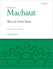 Guillaume de Machaut - Mass Our Lady - Sheet Music - di-arezzo.co.uk