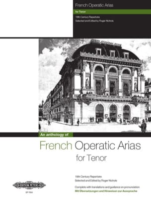 French Operatic Arias Ténor. Partition Opéras - laflutedepan
