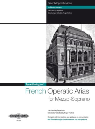 French Operatic Arias Mezzo Partition Opéras - laflutedepan