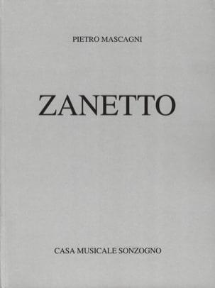 Pietro Mascagni - Zanetto - Sheet Music - di-arezzo.co.uk