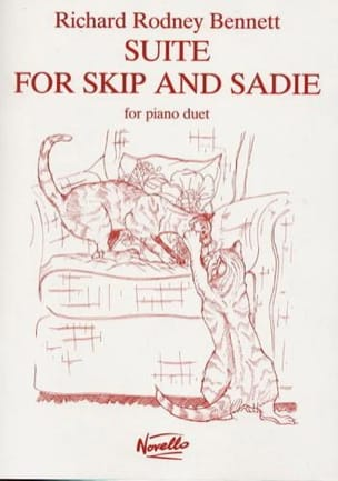 Richard Rodney Bennett - Suite For Skip And Sadie 4 Mains - Partition - di-arezzo.fr