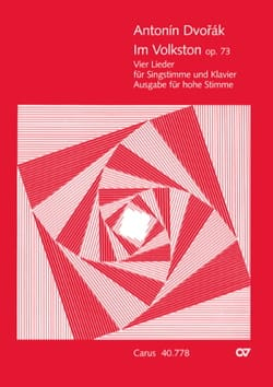 Anton Dvorak - Im Volkston Opus 73. Voix Haute - Partition - di-arezzo.fr