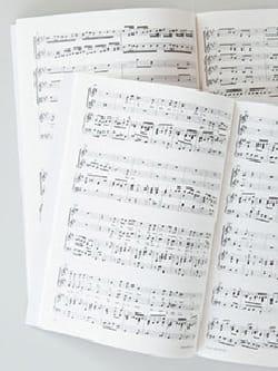 MENDELSSOHN - 9 Psalmen Und Cantique - Partition - di-arezzo.fr
