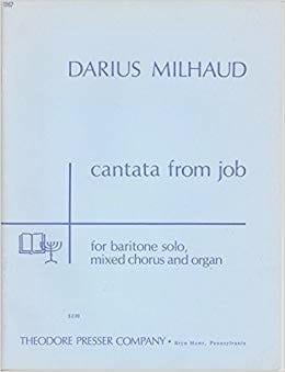 Cantata From Job - Darius Milhaud - Partition - laflutedepan.com