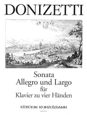 Sonata, Allegro et Largo. 4 Mains - laflutedepan.com