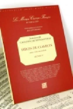Cassanea Jean-Joseph de Mondonville - Pièces de Clavecin Avec Voix Ou Violon - Partition - di-arezzo.fr