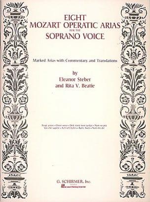 MOZART - 8 Opera Arias For The Soprano Voice - Sheet Music - di-arezzo.com