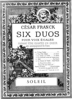 César Franck - Sun - Sheet Music - di-arezzo.co.uk