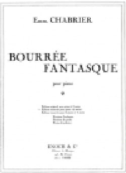 Emmanuel Chabrier - Bourrée Fantasque. 4 Mains - Partition - di-arezzo.fr