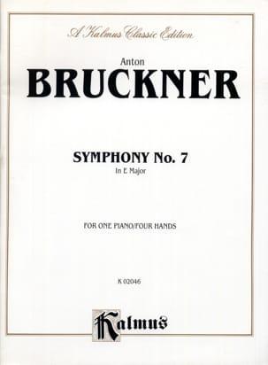 Anton Brückner - Symphony No. 7. 4 Hands - Sheet Music - di-arezzo.com