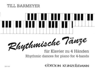 Barmeyer - Rhythmische Tänze. 4 Mains - Partition - di-arezzo.fr