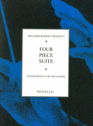 4 Piece Suite. 2 Pianos Richard Rodney Bennett Partition laflutedepan