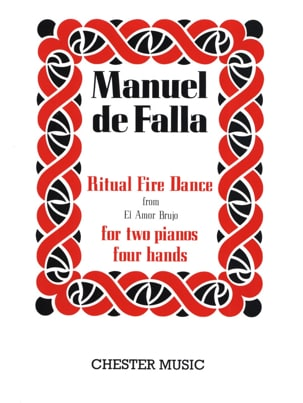 Ritual Fire Dance. 2 Pianos DE FALLA Partition Piano - laflutedepan
