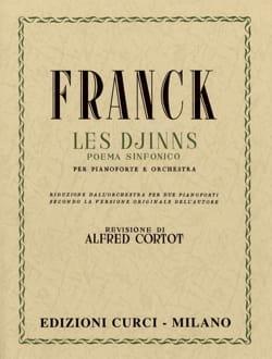 Les Djinns. 2 Pianos - César Franck - Partition - laflutedepan.com