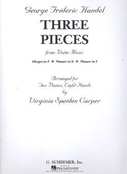 3 Pièces. 2 Pianos 8 Mains - laflutedepan.com
