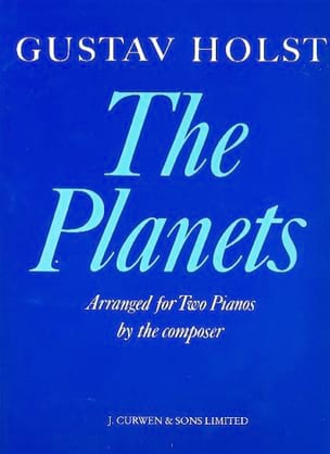 Gustav Holst - The Planets. 2 pianos - Partition - di-arezzo.fr
