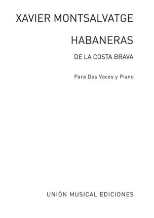 Habanera de la Costa Brava - Xavier Montsalvatge - laflutedepan.com