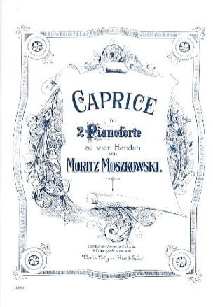Moritz Moszkowski - Caprice. 2 Pianos - Partition - di-arezzo.fr