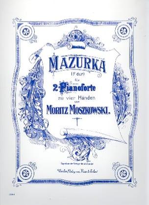 Moritz Moszkowski - Mazurka En Fa Majeur. 2 Pianos - Partition - di-arezzo.fr