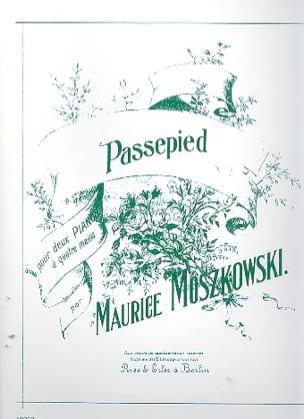 Moritz Moszkowski - Passepied. 2 Pianos - Partition - di-arezzo.fr