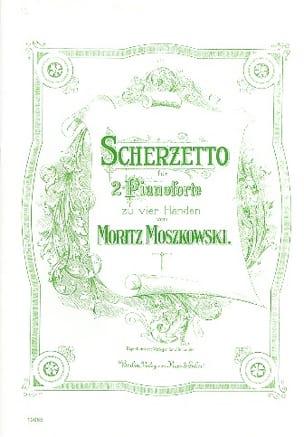Scherzetto. 2 Pianos Moritz Moszkowski Partition Piano - laflutedepan