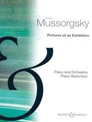 Modest Moussorgsky - Pictures At An Exhibition. 2 Pianos. - Partition - di-arezzo.fr