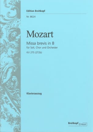 MOZART - Missa Brevis - Sheet Music - di-arezzo.co.uk