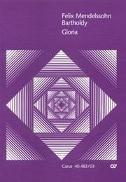 MENDELSSOHN - Gloria - Partition - di-arezzo.fr