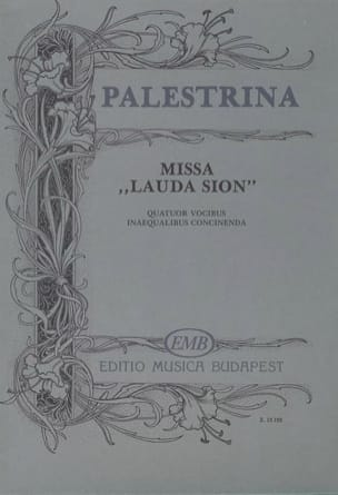 Missa Lauda Sion Giovanni Pierluigi da Palestrina laflutedepan