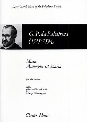 Missa Assumpta Est Maria Giovanni Pierluigi Palestrina laflutedepan