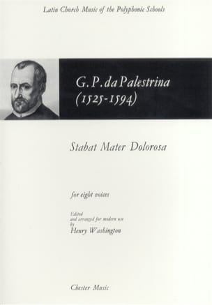 Stabat Mater Dolorosa Giovanni Pierluigi da Palestrina laflutedepan